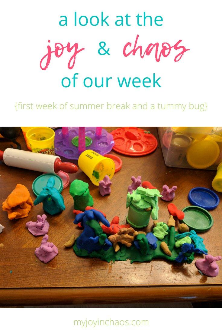 weekly joy and chaos