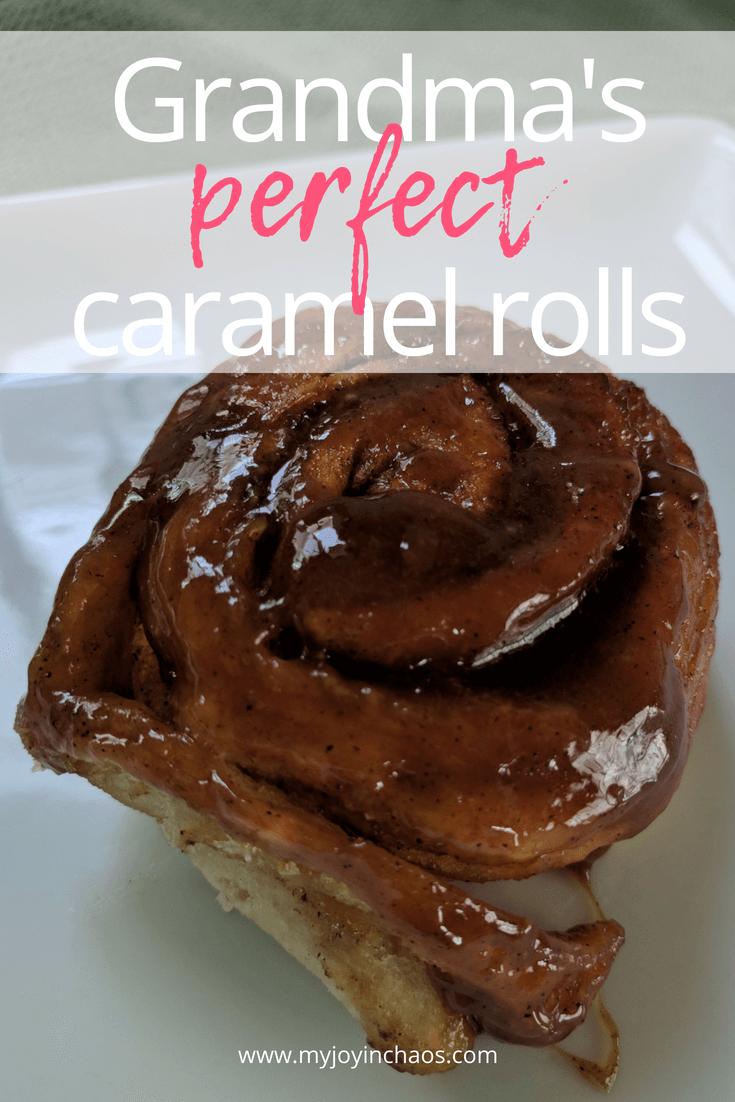 perfect caramel rolls