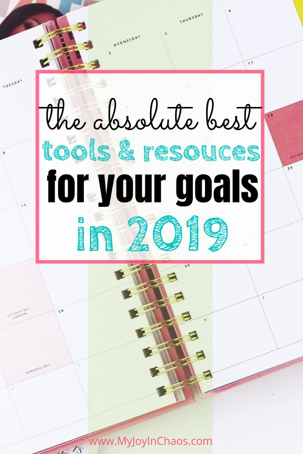 goal setting planners