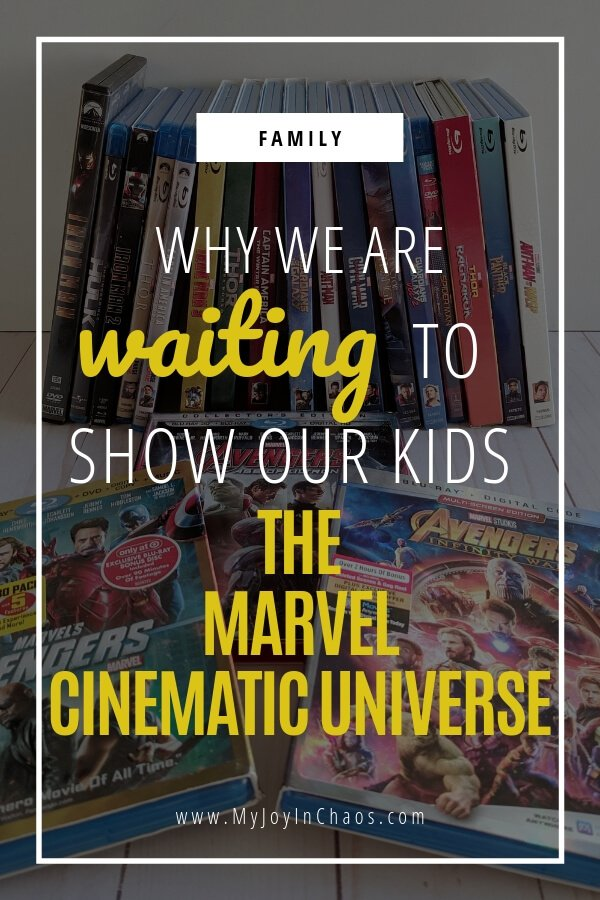 marvel cinematic universe appropriate for kids