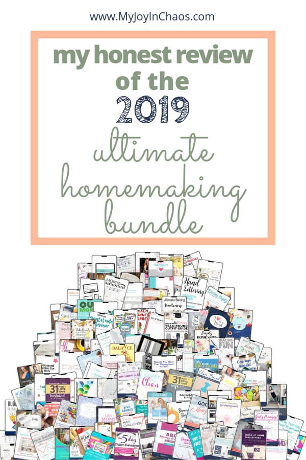 2019 ultimate homemaking bundle products