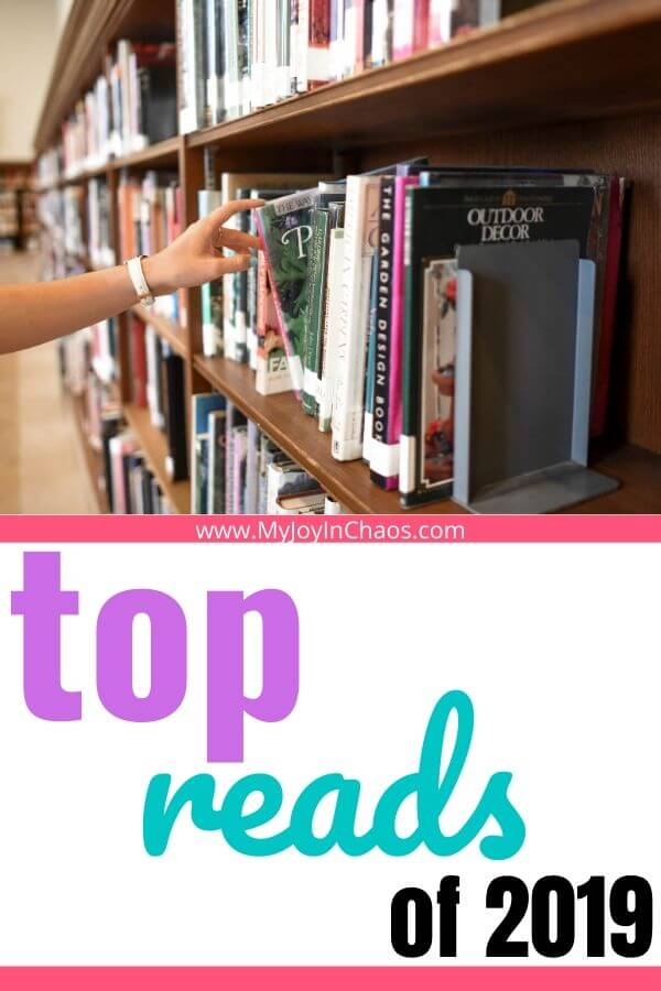 bookshelf and words top reads of 2019