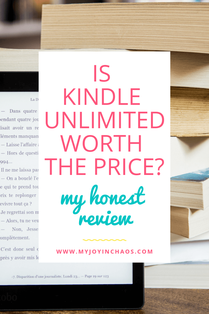 kindle unlimited price