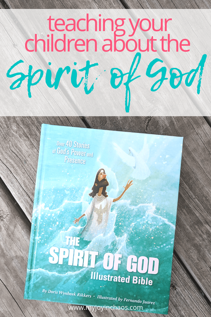 teaching your kids about the holy spirit