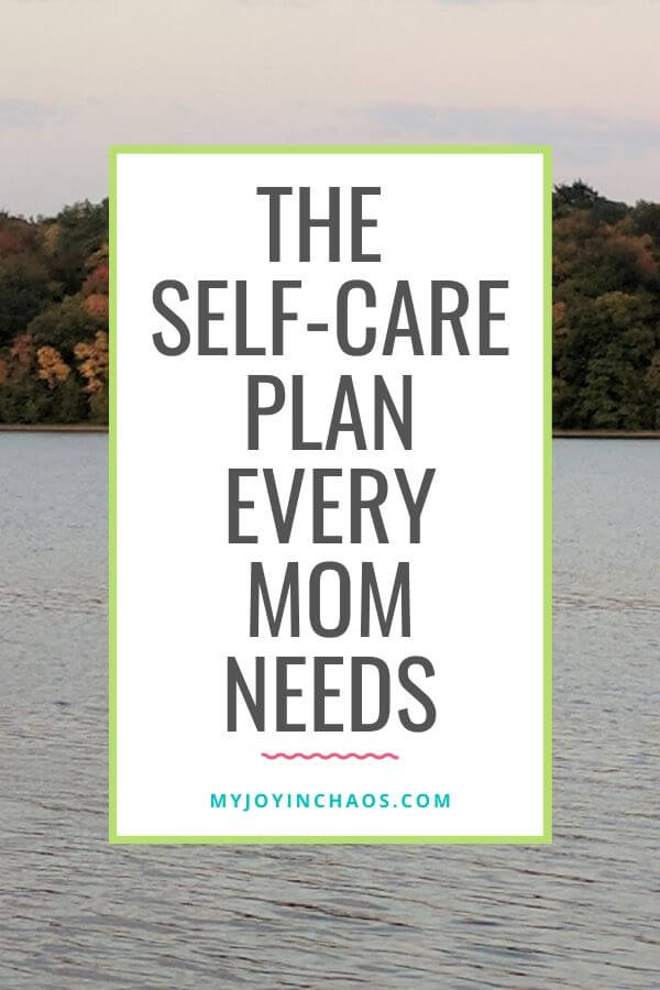 types of self-care for moms