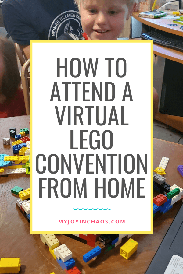 how to attend a virtual lego convention