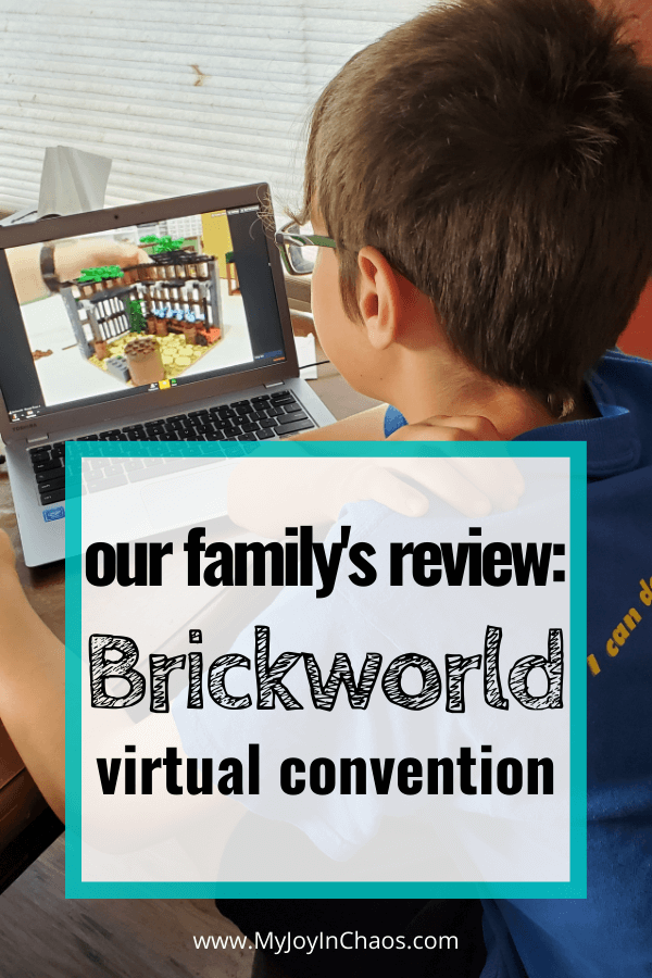 boy watching Brickworld chicago virtual lego convention